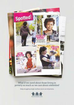 WoodGreen Community Services, Homeward Bound Program: Single Mom Celebrities, Spotted