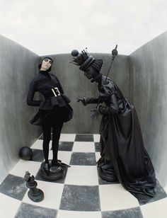 Check-Mate by Tim Walker for Vogue Italia | Yellowtrace