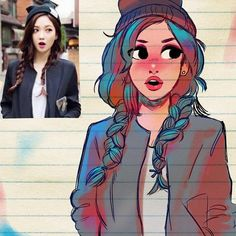 Illustrator Turns Strangers Into Manga-Like Characters, And The Result Is Pretty Awesome