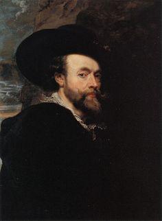 AUTO-PORTRAIT - 1623 #rubens #toile #peinture #painting  #autoportrait #art #flamand #maitre #master #baroque #1623