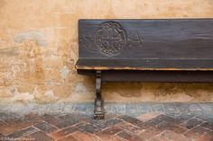Bench by Stéphanie Masson on 500px - Bench at the Basilica of St. Anthony of Padua.