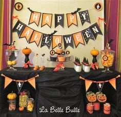 Halloween decorations :IDEAS & INSPIRATIONS Bewitching Halloween Party