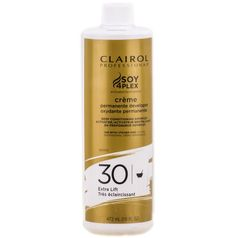 Clairol Soy 4 Plex Creme Permanente Developer 30 Volume 16 oz $3.15   Visit www.BarberSalon.com One stop shopping for Professional Barber Supplies, Salon Supplies, Hair & Wigs, Professional Product. GUARANTEE LOW PRICES!!! #barbersupply #barbersupplies #salonsupply #salonsupplies #beautysupply #beautysupplies #barber #salon #hair #wig #deals #sales #clairol #soy4plex #permanente #cream #developer #30volume