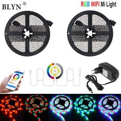 24 Key Remote Rgb Controller Supply Blyn 10m Led Strip Rgb Rope Waterproof 2835 Smd Flexible Diode Tape 5m dc12v 2a 3a Led Adapter