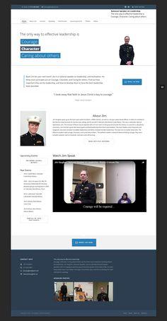 www.JimVaughan.us Portfolio Website, The Only Way, Leadership, Web Design, Faith, Books, Livros, Design Web, Livres