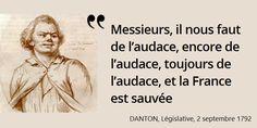 La France est alors en pleine guerre et la patrie en danger. La Fayette, accusé de... #histoire de #France en #citations