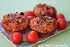 SCD Tomato & Bacon Muffins
