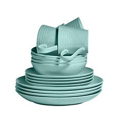 Gordon Ramsay Maze Teal by Royal Doulton® 16-pc. Dinnerware Set at www.younkers.com