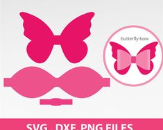 Butterfly bow svg bow svg scalloped bow svg large bow template png and svg dxf formats 8 sheet printable bow template for cricut or silhouette – Artofit Making Hair Bows, Diy Hair Bows, Handmade Hair Bows, Ribbon Hair, Bow Template, Templates, Hair Bow Tutorial, Headband Tutorial, Flower Tutorial