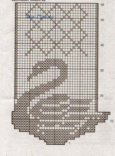 O cantinho da Diva e Fa milia Filet Crochet Charts, Crochet Motifs, Crochet Quilt, Knitting Charts, Crochet Doilies, Crochet Stitches, Cross Stitch Bird, Cross Stitch Embroidery, Cross Stitch Patterns