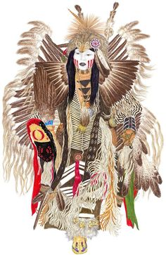 Pow-wow Drawing - Traditional Pow-wow Dancer 1 by Tim McCarthy Native American Seed, Native American Pictures, Native American Artwork, Native American Regalia, Native American Artists, Native American Beadwork, Indian Pictures, Female Face Drawing, Woman Drawing