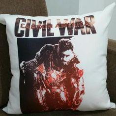 Almofada Guerra Civil Stark 35x35