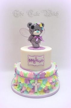 Fairy Teddy by Nessie - The Cake Witch