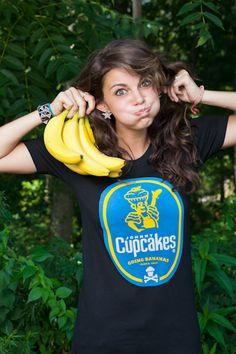 bananas for johnny cupcake