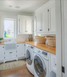 #LaundryRoom #Interiors - now this is laundry room...to do my favorite household chore! Love it!!