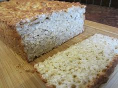 Pão com farinha de arroz e polvilho (sem glúten)