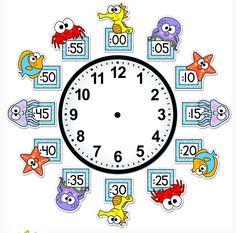 Lkg Worksheets, Worksheets For Kids, 4th Grade Math, Kindergarten Math, Classroom Clock, Math Sheets, Science Notebooks, Home Schooling, Teaching Tools