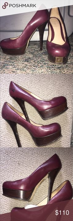 Loved Fendi Platforms I've love these and it does show in some places. I know that someone will love these and at this price you can have a professional buff them or wear as is. Fendi Shoes Platforms