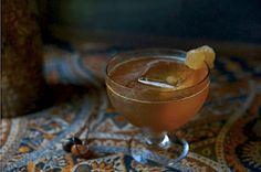 Bourbon acv cocktail