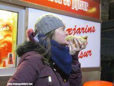 Famous Iceland hotdogs #baejarins #pylsur #hotdog #reykjavik #iceland #travel