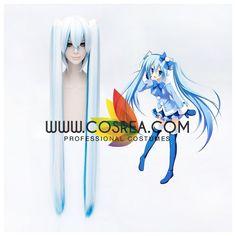 Vocaloid Miku Hatsune Snow Cosplay Wig