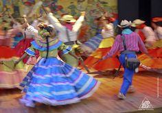 Colombia has the most variety of music of South America.  From folkloric dancing to salsa, merengue and vallenato. Dancing is a way of distraction and enjoy life no Mather what difficulties people have, it keeps the country happy.