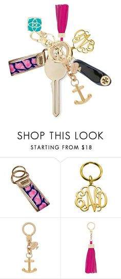 """@prep-society Keychain Contest!"" by sc-prep-girl ❤ liked on Polyvore featuring Lilly Pulitzer, Kate Spade, Kendra Scott and PSkeyfobcontest"