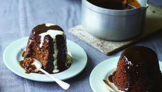 Dairy free sticky toffee pudding