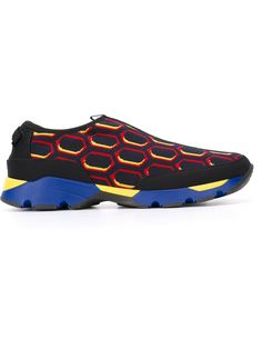 Marni printed slip-on sneakers