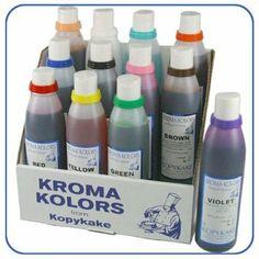 Airbrush Lebensmittelfarben