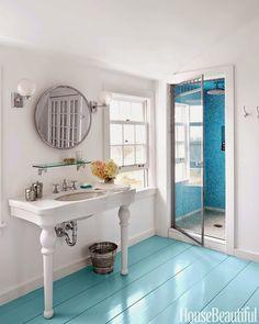 farmhouse bathroom | Nate McBride and Kari McCabe