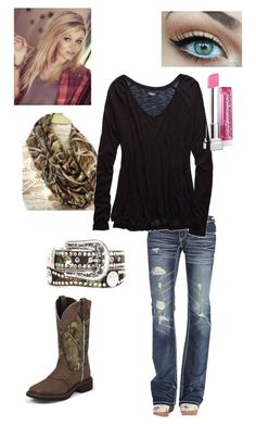 """""""Casual camo"""" by countrygirl619 ❤ liked on Polyvore featuring Realtree, Daytrip, Aerie and Nocona Southern Clothing, Southern Outfits, Country Girls Outfits, Southern Style, Country Wear, Country Girl Style, My Style, Camo Outfits, Girl Outfits"""
