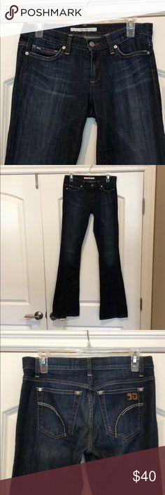 Joe's Jeans- Rocker Fit Joe's Jeans. Denim. rocker fit. Size 27. Dark blue wash. Joe's Jeans Jeans Flare & Wide Leg