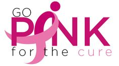 Go PiNK for the cure breast cancer awareness campaign. October is National Breast Cancer Awareness Month.