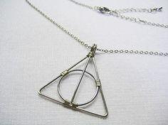 deathly hallows necklace, DIY?