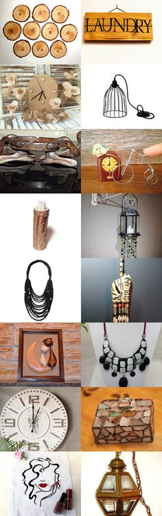 Bois et fer forgé by Axelle BOSLER on Etsy--Pinned+with+TreasuryPin.com