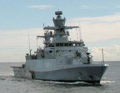 FGS Magdeburg F 261 Type K130 Braunschweig class Corvette German Navy Deutsche Marine