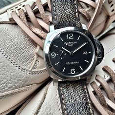 LV Serie on PAM312. Price before buckle: $170 - IDR 1.700.000 by celdy.store #panerai