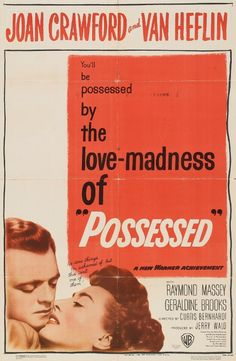 Franz Waxman's musical score perfectly underscores every one of Joan Crawford's scenes, and Joseph A. Valentine's cinematography visually expresses her madness. Description from ocdviewer.com. I searched for this on bing.com/images