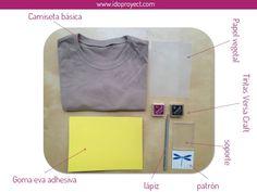 tuto senzill per fer segells x estampar roba (amb goma eva adhesiva)