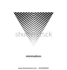 Geometric element, symbol. Gradient logotype. Vector illustration. Minimal design.  Isolated shape. Digital tattoo.