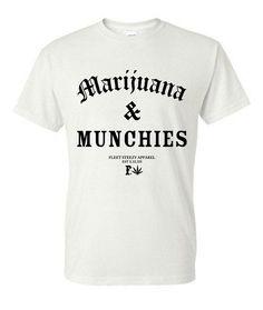Fleet Steezy - Marijuana & Munchies T-shirt