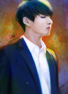 #Jungkook #BTS #fanart Not mine credits to owner