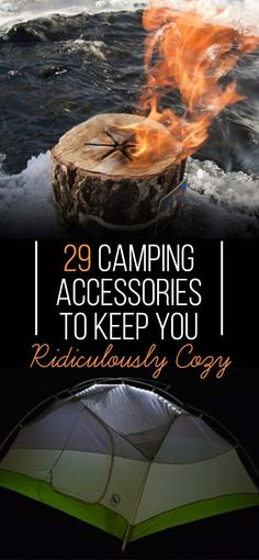 Camping at its comfiest. #camping #hacks #adventure http://www.buzzfeed.com/laurenpaul/ways-to-stay-cozy-while-camping?crlt.pid=camp.QgGqdNqohlXo