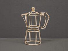Artist Janusz Grünspek Meticulously Recreates Everyday Objects Using Wooden Skewers