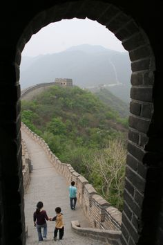 The  Great Wall... Photo by Ole Wåhlin