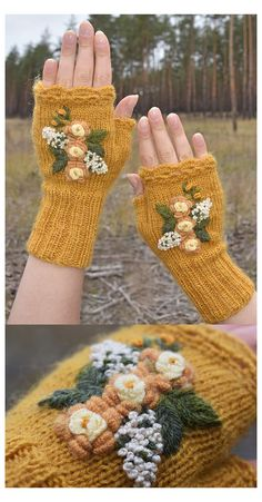 Hand Knitting, Knitting Patterns, Crochet Patterns, Knitting Machine, Hat Patterns, Loom Knitting, Stitch Patterns, Fingerless Mittens, Knit Mittens