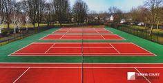 #CourtRelining - http://www.tenniscourtmaintenance.co/resurfacing/