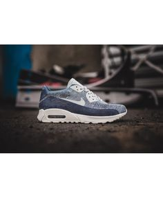 new styles fa3fe 0c00e See more. Women s Nike Air Max 90 Ultra 2.0 Flyknit PNCL Ocean Fog Pure  Platinum 889694-