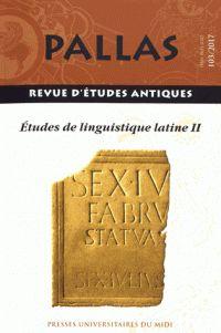 Pallas : revue d'etudes antiques Publicación Toulouse : Service des Publications de l'Université de Toulouse-Le Mirail, [1953]-